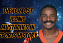 Giovani Bernard and the 16 Most Iconic Mustaches in Sports History